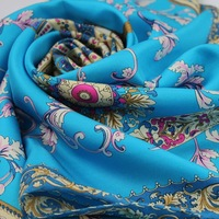 2012 new arrival silk twill square scarf mulberry silk handmade roll-up hem slanting stripe large facecloth