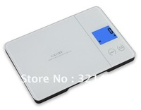 5kg 5000g/1g Household Kitchen Scales Digital food balance with Blue Backlight and Touch button