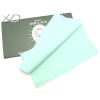 10pcs/lot Silver Jewelry Cleaning Polishing Cloth 17x17cm CL3