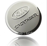 freeshipping! Wholesale  Kia Sportage / K2 fuel tank cap/ stainless steel  Tank Covers