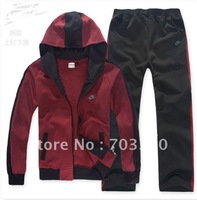 The real thing sport men and women hooded clothing lovers who sport suit leisure sportswear