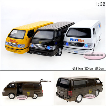 Jinbei car transport vehicle WARRIOR plain alloy car model educational toys