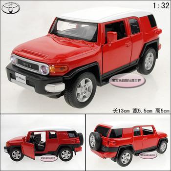 TOYOTA cruiser red alloy car models acoustooptical