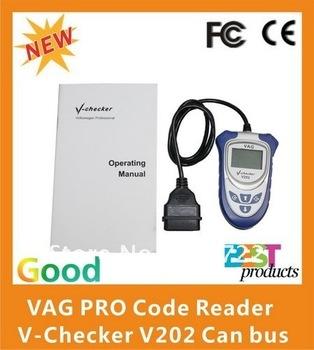 VAG PRO Code Reader V-Checker V202 Can bus