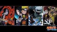 """Naruto Uchiha Sasuke Shippuden Naruto Uzumaki HOT TV Amiee 42"""" x 24"""" inch Poster 03"""