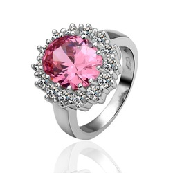 newest 18k Swarovsk elements Ruby platinum fashion jewelry hong kong(China (Mainland))