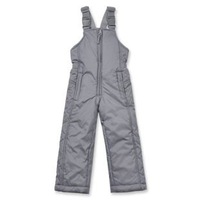 free shipping 2012 thickening thermal grey unisex suspenders one piece cold-proof skiing trousers