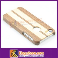 for Iphone 5g Circle Hole Sapele Wooden spell Maple Case-- free shipping