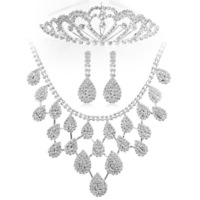 Ювелирный набор 2012 Holiday season Sale- Rhinestone Wedding Jewelry Sets Bridal jewelry &Christmas Jewelry Sets