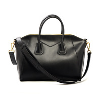Cowhide women's handbag 2012 female vintage  fashion women's  handbag cross-body large capacity brief
