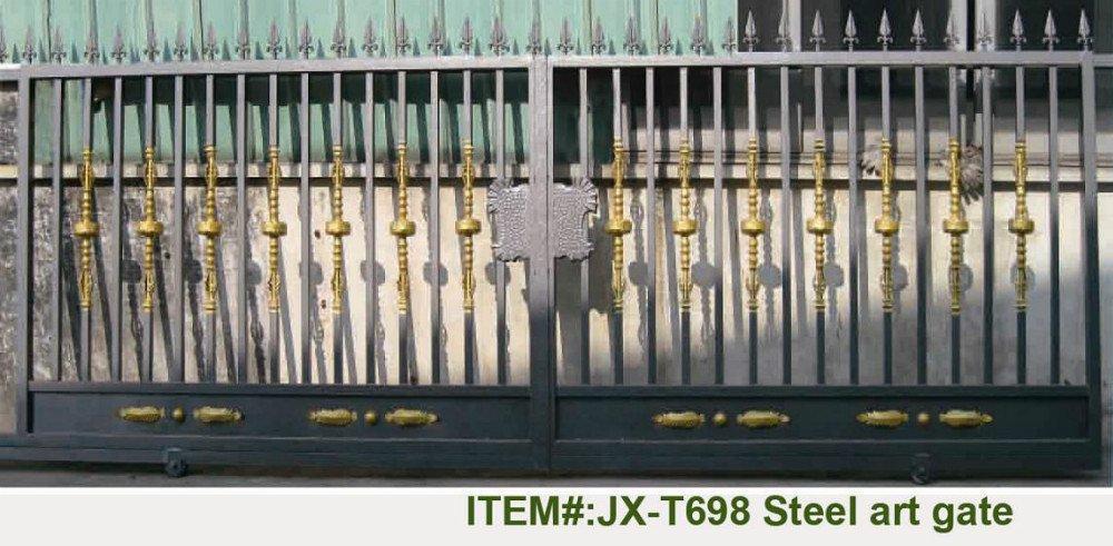 Manual Sliding Gate Automatic Sliding Gate Sliding