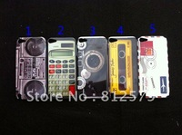 for ipod touch 5 case ,Tape Cassette Camera cartoon  hard back case For ipod Touch 5 5th