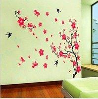 Hot selling Fashion Wall sticker Swallow Plum blossom
