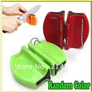 Free shipping Super Quality round utility knife device ,outdoor Round Knife Sharpener mini Sharpener