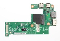 FREE SHIPPING for Dell Inspiron 15R  N5010 DG15 IO Board 48.4HH02.011 USB E-SATA Lan DC 01002