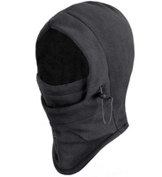 New Black gray Warm Full Face Cover Winter Ski Mask Beanie Hat Scarf Hood CS Hiking free shipping