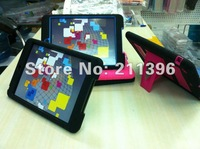 2 in 1 Hard Case Cover for iPad Mini 7.9'' with screen protector + Touch Pen,High quality,Freeshipping