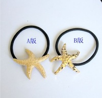 Free shipping 20pcs/lot Chromophous the trend of the metal headband hair rope