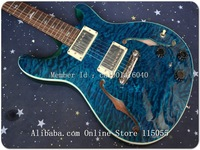 Wholesale Guitars  reed smith custom electric guitar in Blue wave   Free shipping - (NO CASE) EG87