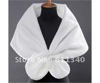 2012 Hot sale Ivory Faux Fur Beads Stole Wrap Shrug Bridal shawl Shrug Warm  D-21