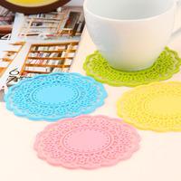 free shipping  10pcs Derlook sweet vintage translucent cutout lace insulation mat k0141
