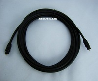 50ft 15m OD 4.0 Digital Optical Fiber Optic Toslink Audio Cable used on CD/DVD/DAT/MD/LD free shopping