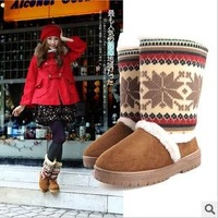 Free shipping women winter warm snow boots comfortable scrub women boots women's shoes hot sale