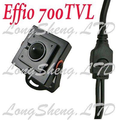 Mini HD Box Sony 700TVL 2.5mm Pinhole Wide Angle Security CCTV Color camera(China (Mainland))