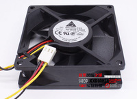 8cm afb0812sh 8025 12V  0.51a  3 wires tachometer signal double ball power supply computer cooling fan