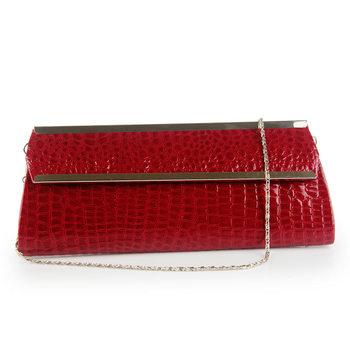 women's crocodile pattern women's handbag PU clutch day clutch stone pattern clutch bag