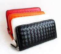 Fly bag  european version of the small clutch women's wallet single zipper wallet