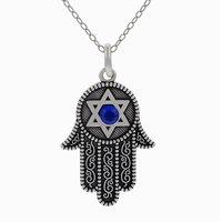 wholesale 10pcs/lot Fashion jewelry hamsa hand kabbalah necklace fatimamarried hand necklace,Free Shipping to USA