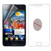 New Wholesale 30pcs/Lot Matte Anti-Glare Clear LCD Screen Protector Shield Film Guard  for Samsung Galaxy S II GT-I9100