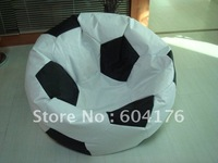 Free shipping football shape bean bag chair/bean bag sofa