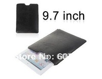 Dash Prism  Universal Vesion 9.7 inch Leather Case Straight Cylinder Cover Black Protector Cover Skin Pocket For Ipad Tablet Pc