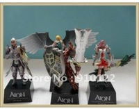 Free shipping Corea online game Aion Tower of Eternity figure set (4 Pieces/set)