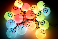 0820 eyes decoration string light decoration lamp halloween masquerade props