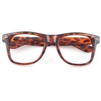 Fashion Leopard Frame Geek Elegant Eyeglasses Glasses No Lens 02