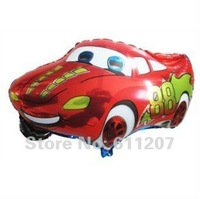 50 pcs/ lot Free shipping wholesales cartoon car foil balloons , Helium balloons ,children toys 66*41cm