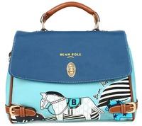 Cartoon color block bag small horse bags brief vintage messenger bag Women 2012 messenger bag
