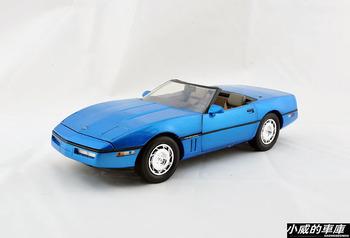 Greenlight 1986 CHEVROLET corvette blue