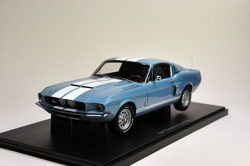 Aotuo FORD 1967 shelby mustang gt500 blue