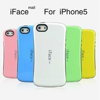 New Korea Style Candy Color Case for Apple iPhone 5 5G, iFace First Class Case for iphone5+Retail box 10pcs/Lot Free Shipping