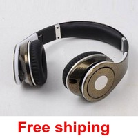 Free shipping Noise-Canceling headset colorful champagne Studio on-ear DJ headset