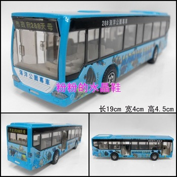 Good 288 marine bus car bus car toy model of tourist bus