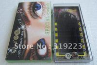 A-481 Baisida 10 boxes human hair 8mm-12mm 0.10 D curl false eyelashes eyelash extension Free shipping !