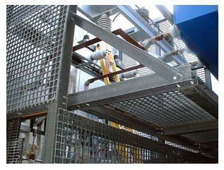 Steel Grating -Black_Plain type /Galvanized Steel /