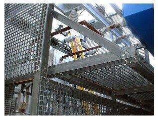 Steel Grating -Black_Plain type /Galvanized Steel /