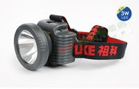 Zk168 3w 5w 7w led light charge type headlights lithium battery