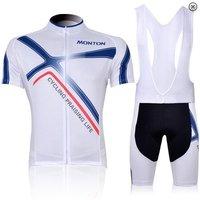 Free shipping 2012 MONTON X Infinite White Of Bib Short Sport Cycling Jersey/Cycling Clothing/Cycling Gear